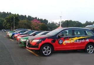 广州增城汽车彩绘巡游
