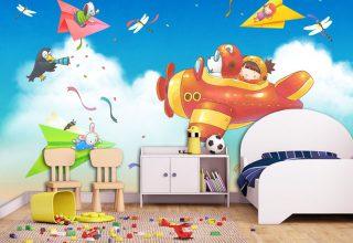 儿童房手绘–帅宝贝必备