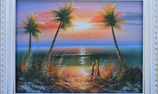 挂画油画——风景