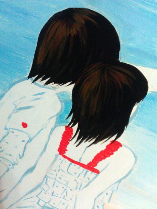福田区彩田路长城盛世2期的沙发背景墙-3
