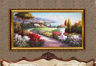 室内配画:油画,客厅配画,卧室配画