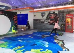 3d地画-海洋世界、街景!