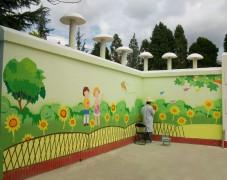 幼儿园外墙手绘