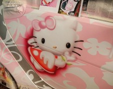 奔驰SMART Hello Kitty彩绘
