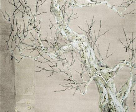 318艺术家余最国画《静夜》以34.5万元拍卖成交