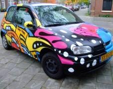 汽车彩绘艺术欣赏