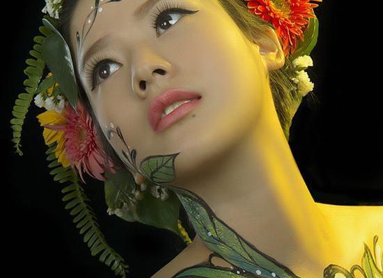 女人的身体艺术,美到极致