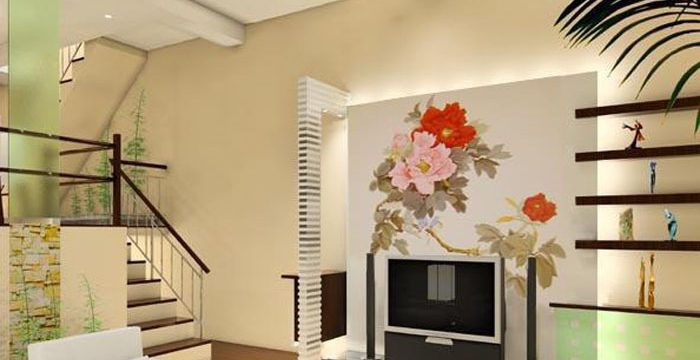 温馨沙发背景墙