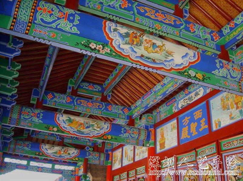 古建筑彩绘201271183617558