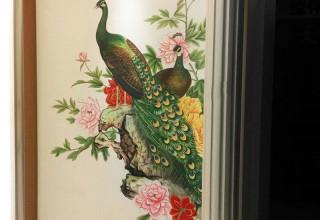 富丽堂皇室内手绘墙画