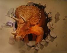 超萌3D小海马手绘