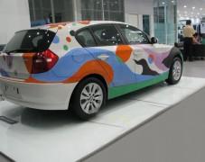 炫酷汽车彩绘