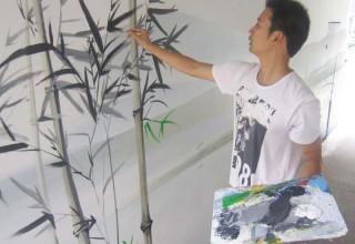 涵洞墙壁彩绘