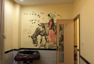 饭店壁画手绘–驴庄壁画手绘–室内装饰壁画手绘