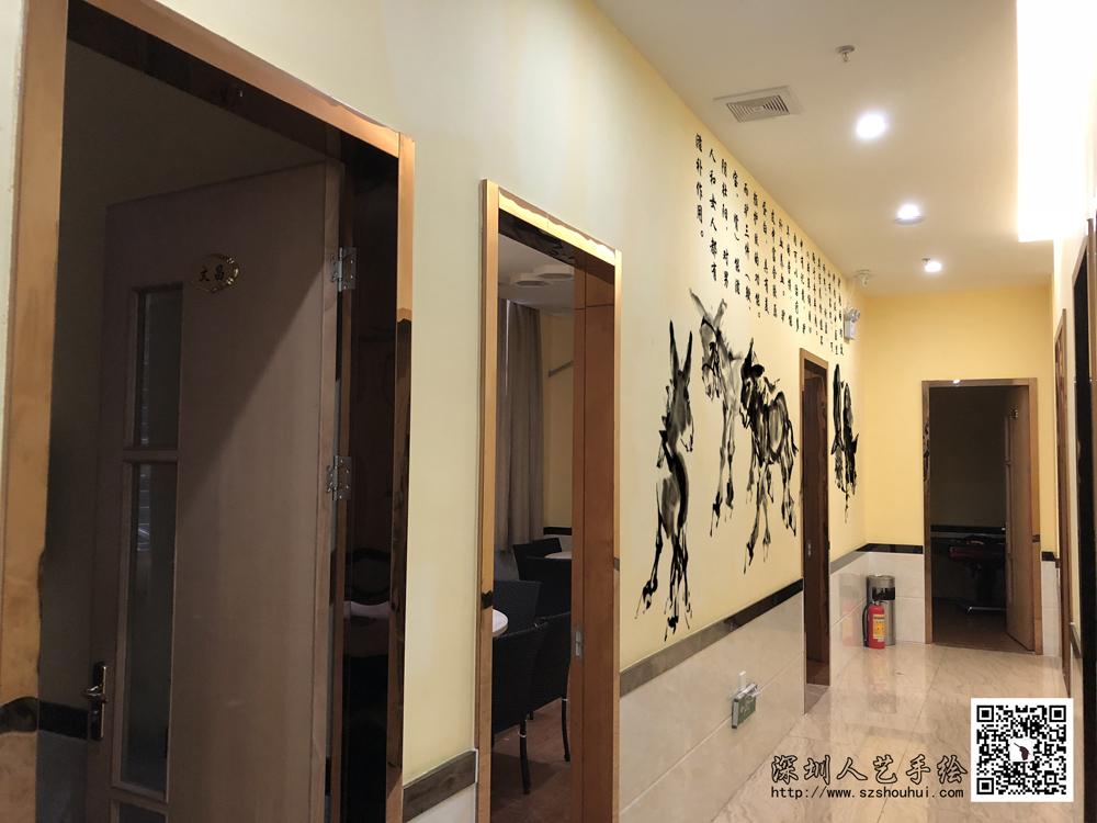 饭店壁画手绘 (4)