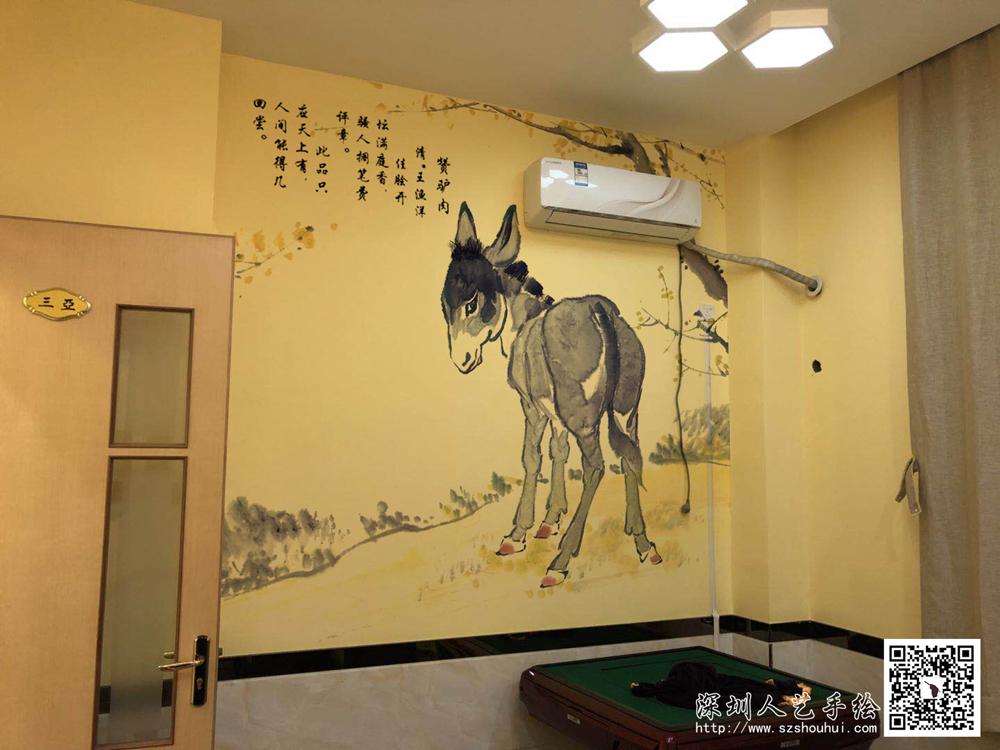 饭店壁画手绘 (7)