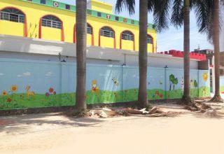 福乐儿幼儿园手绘