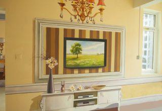 客厅样板房手绘