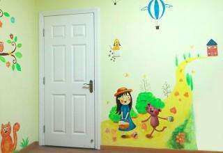 可爱儿童房手绘