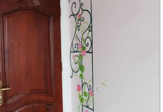 儿童房手绘–公主城堡