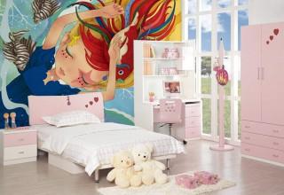 儿童房手绘–梦想世界