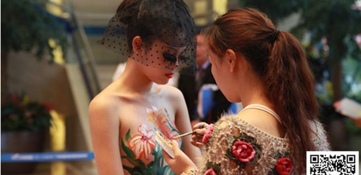 人体彩绘–中国风
