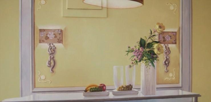 样板房手绘–客厅手绘