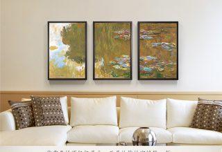 美式客厅–装饰画