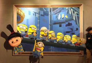 3D画手绘–最萌小黄人
