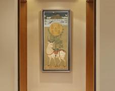 仕卡曼陀罗原版–玄关装饰画
