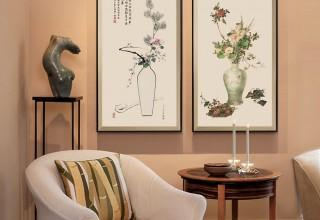 永瑢平安如意图原版–客厅装饰画
