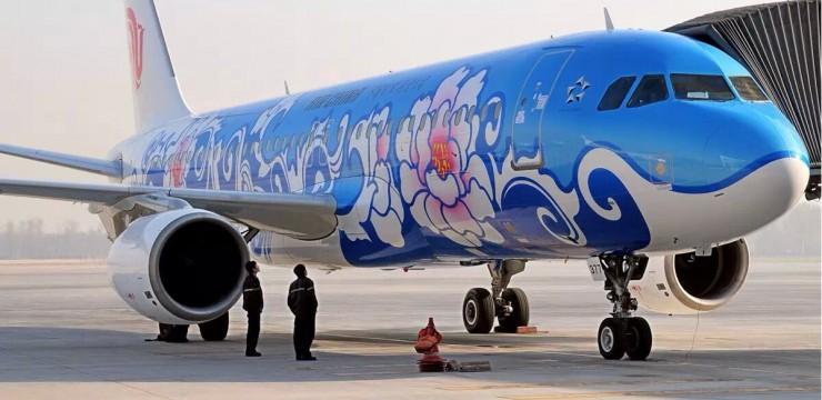 飞机外观手绘