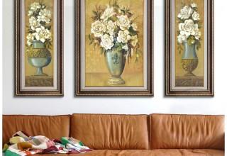 美式装饰画客厅