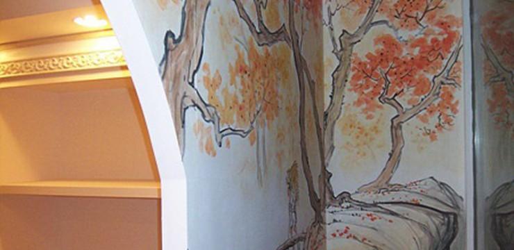 家装墙绘装饰画主题