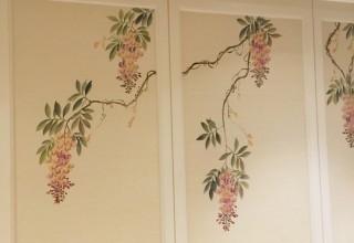 别墅国画风格手绘