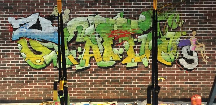 健身房3D绿巨人手绘2