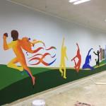 深圳海吉星会所手绘壁画–涂鸦壁画
