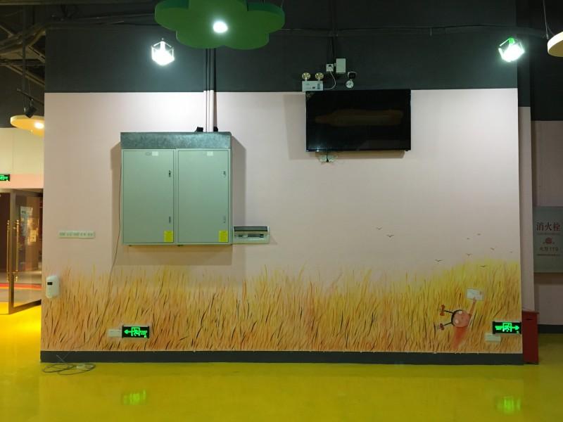 手绘墙几米